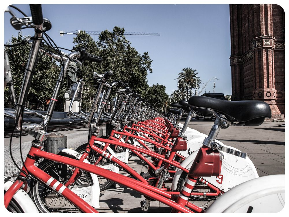 Barcelona by bike von dark1980