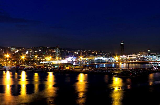 Barcelona by night...........