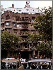 Barcelona. Casa Milà 1970.