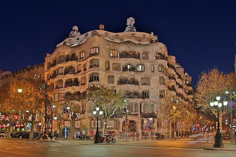 Barcelona, Casa Milla