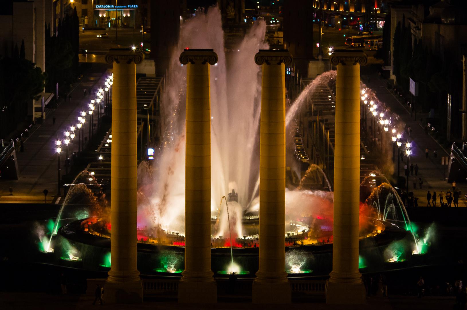Barcelona: Der magische Brunnen