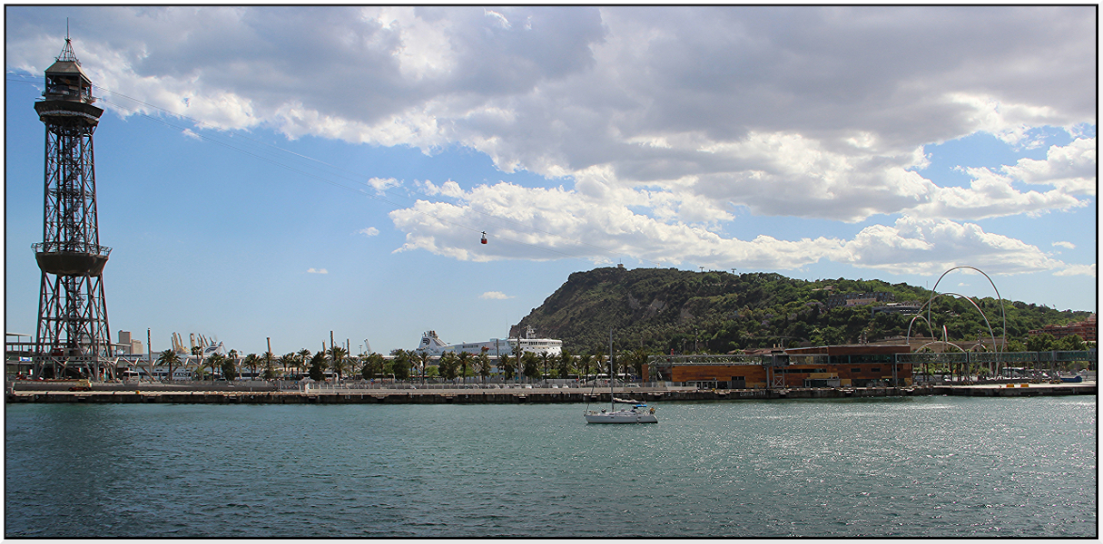 Barcelona - Die Hafenseilbahn