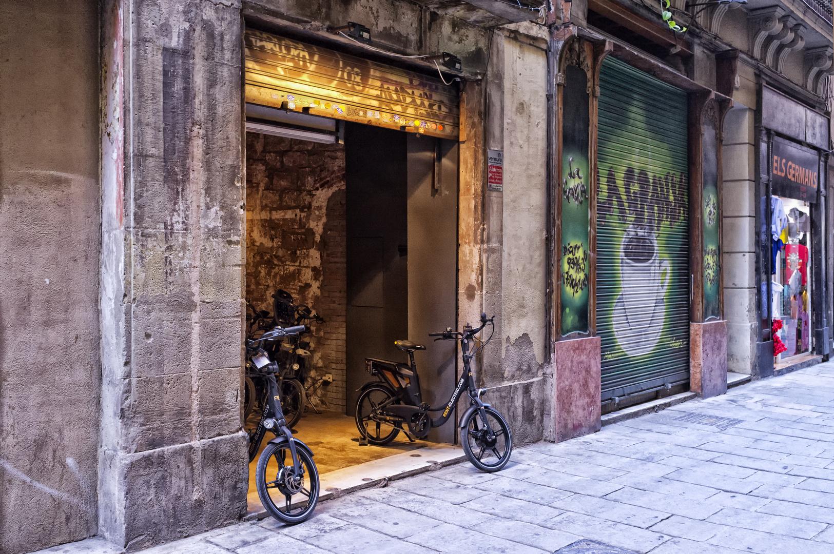 Barcelona, El Barn Gotic (2)