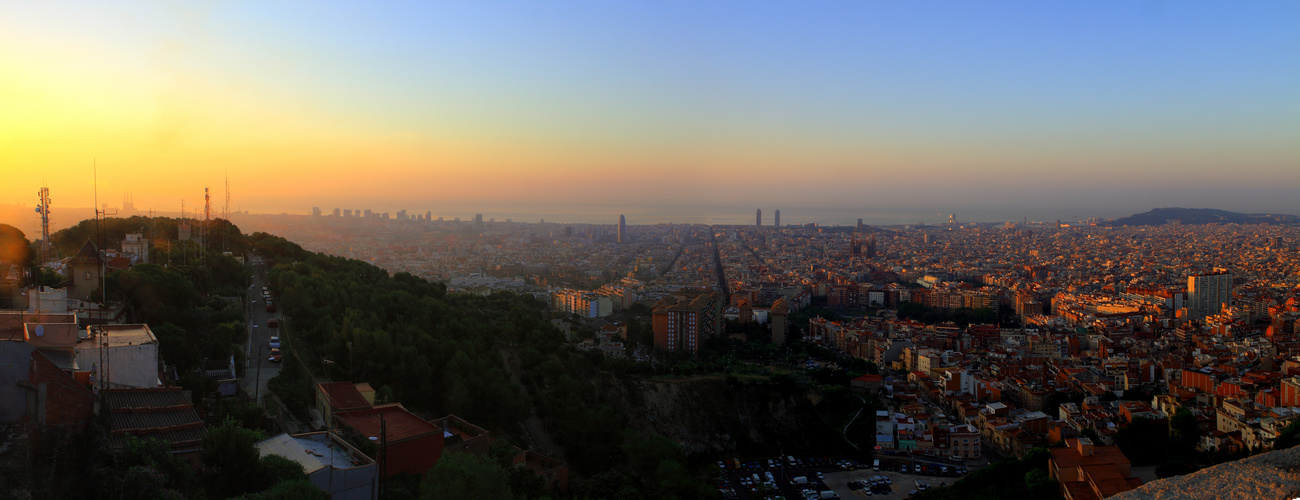 Barcelona es desperta
