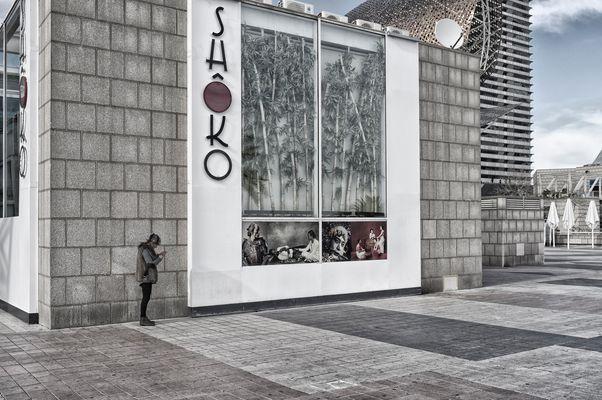 Barcelona, Hafenpromenade