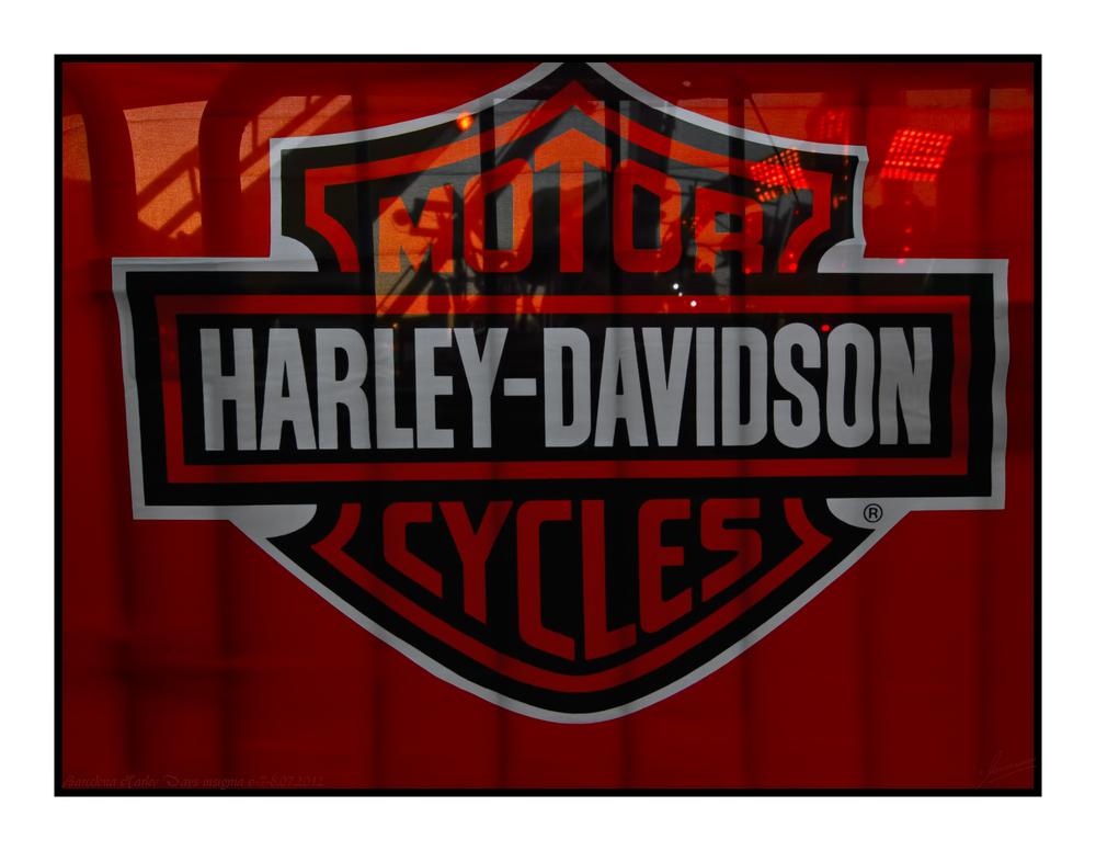 Barcelona Harley Days insignia 6-7-8.07.2012