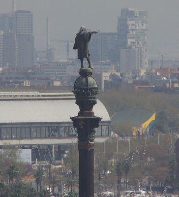 Barcelona Kolumbus-Denkmal
