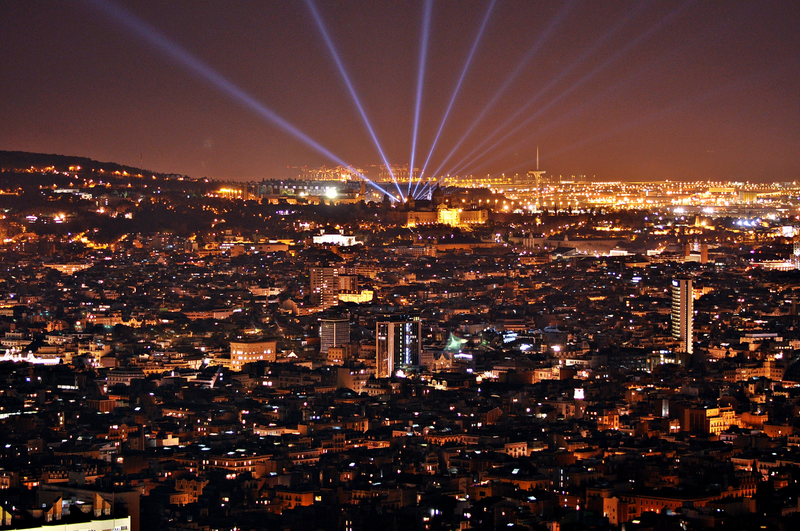 Barcelona lights