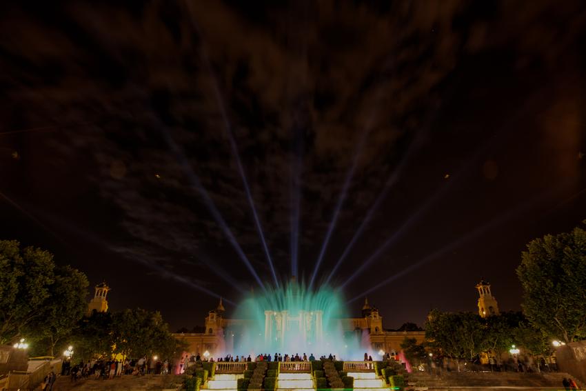 Barcelona - Magische Brunnen von Montjuïc