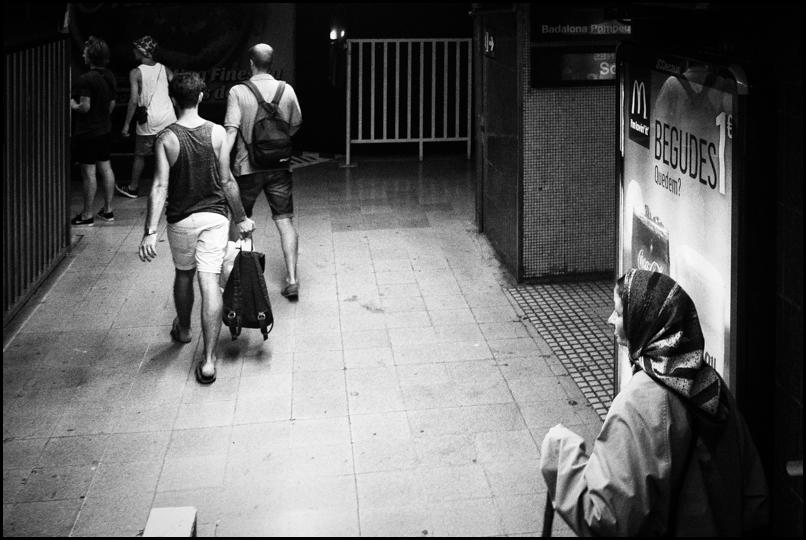 barcelona . metro