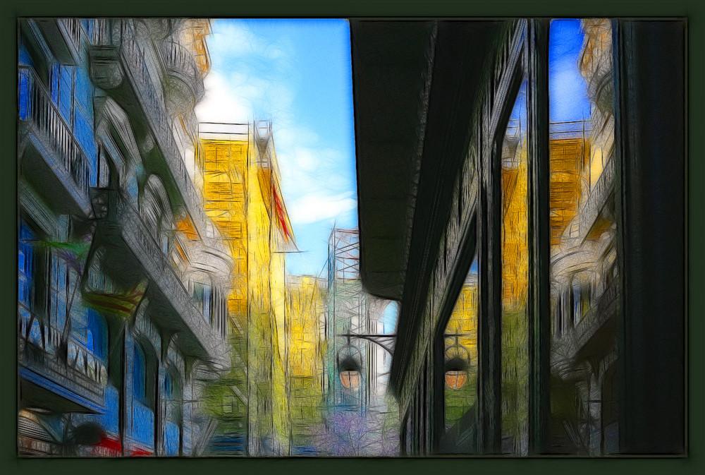 Barcelona mit Filter...