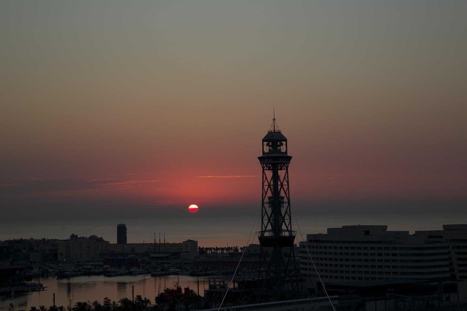 Barcelona Morgendämmerung 4