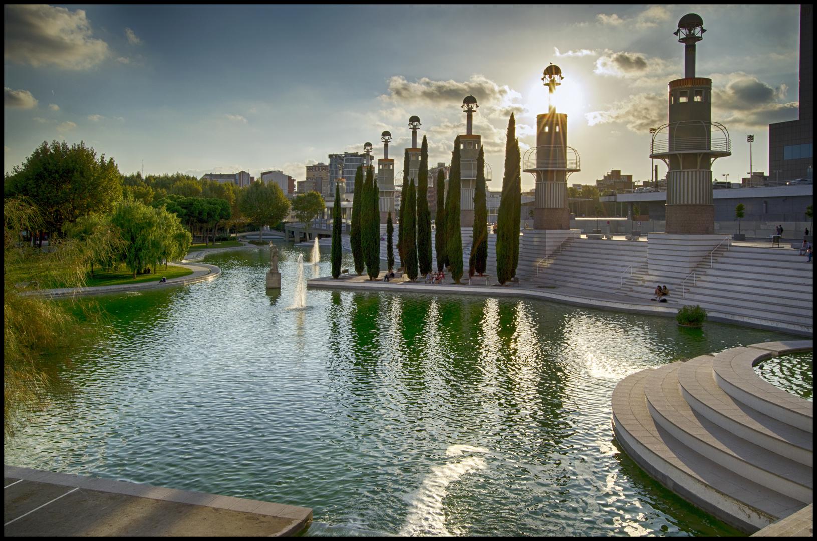 Barcelona Parc Espanya Industrial