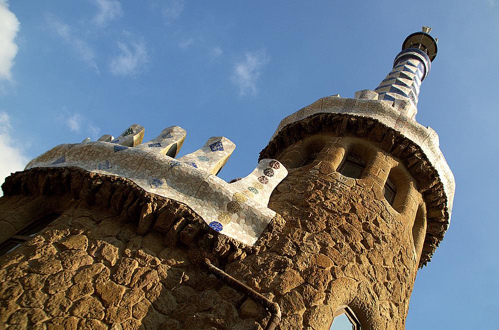 barcelona | parc güell | dem himmel entgegen