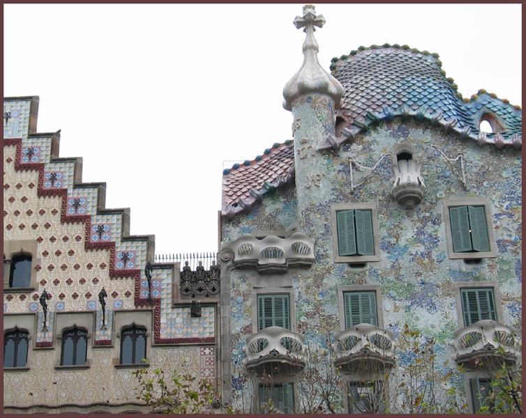Barcelona ; Passeig de Gracia Nr. 41 & 43