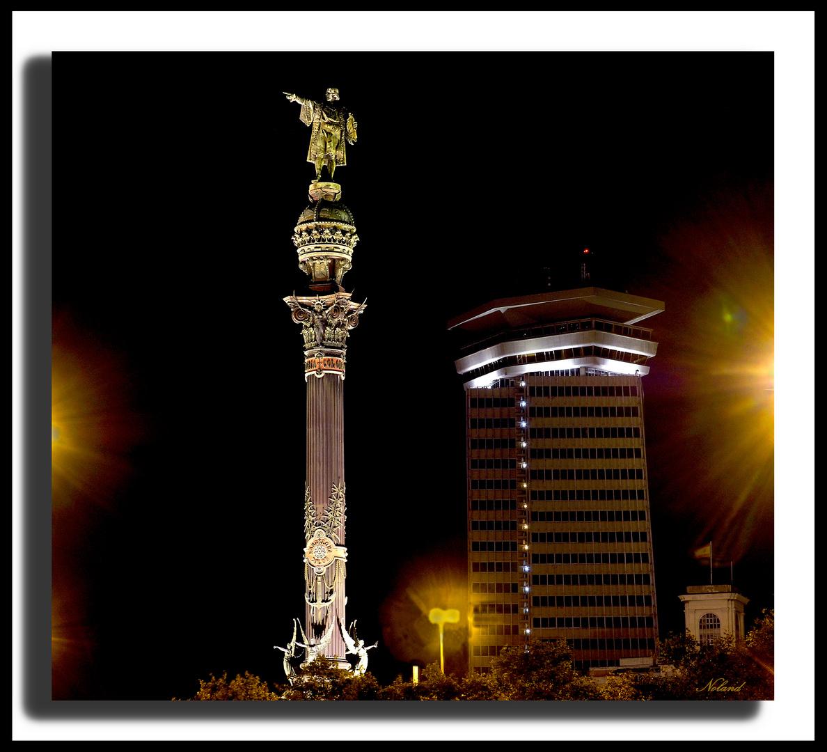 Barcelona- Plaza Colón
