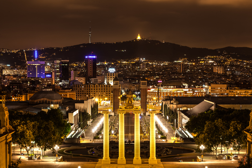 Barcelona - Plaza de Espana