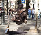 Barcelona-Ramblas, Freischweben-wie geht denn das?