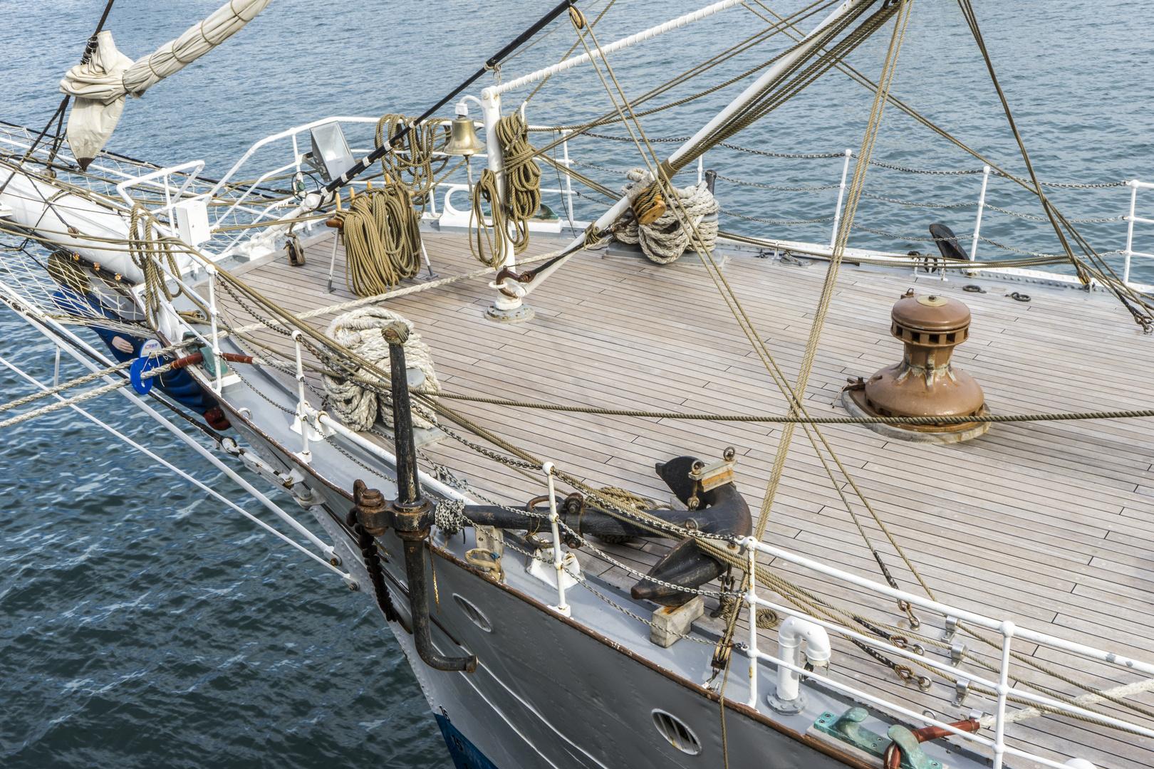 Barcelona - Segelschulschiff Christian Radich