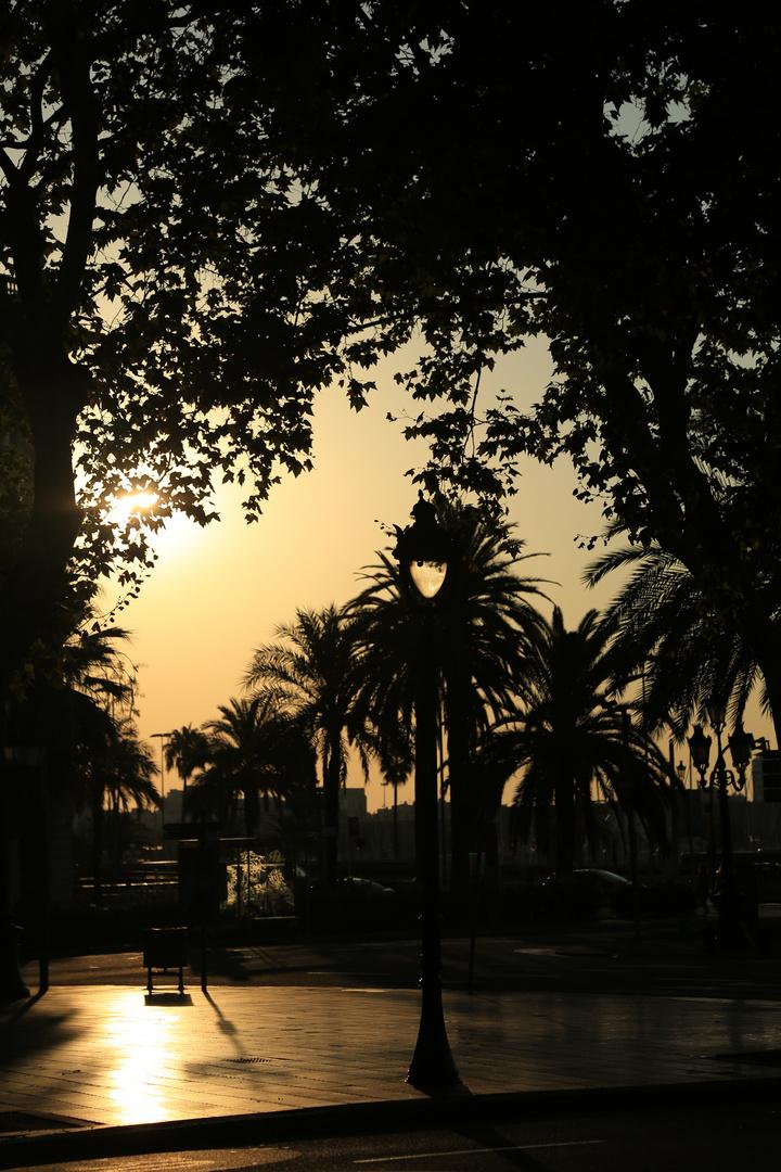 Barcelona Sonnenaufgang 2