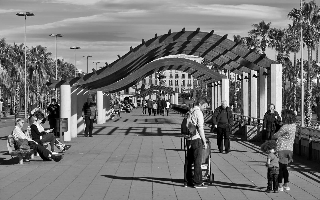 Barcelona Street Szene 2