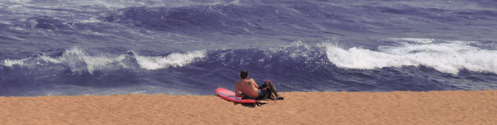 Barcelona, Surfer