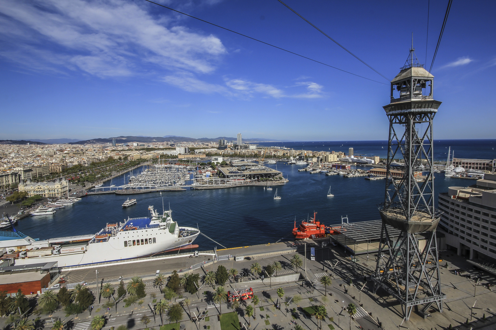 Barcelona - Teleferico del Porto