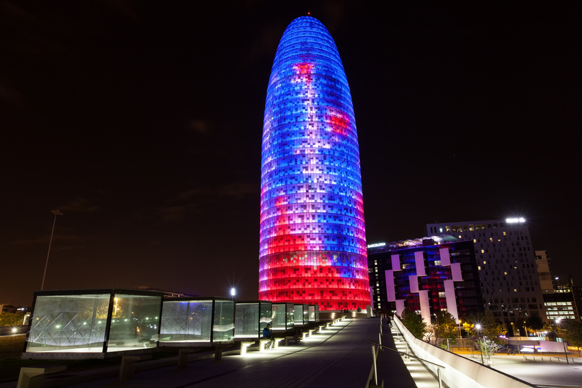Barcelona - Torre Agbar