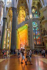 Barcelona,La Sagrada Familia
