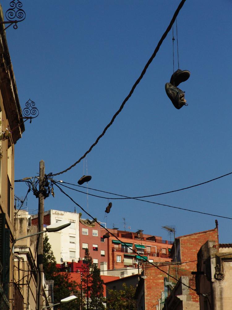 barcelonas himmel von Ramona Geist
