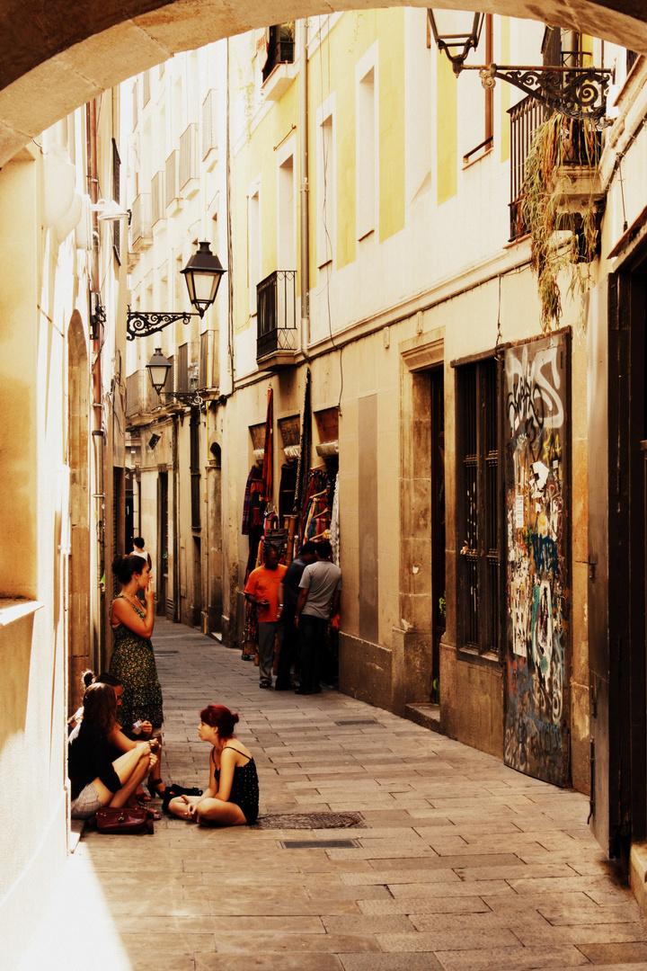 Barcelonas strassen