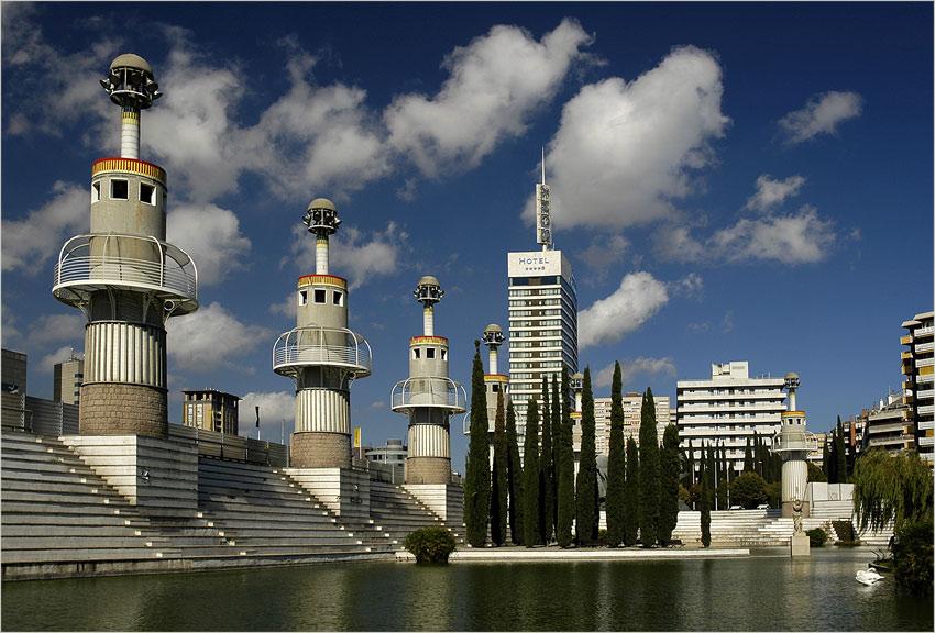 Barcelonas umstrittenster Park...