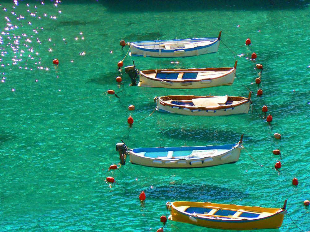 Barche a Vernazza