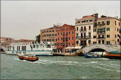 Barche  e Ponti a Venezia