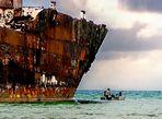 Barco Abandonado San Andres Colombia