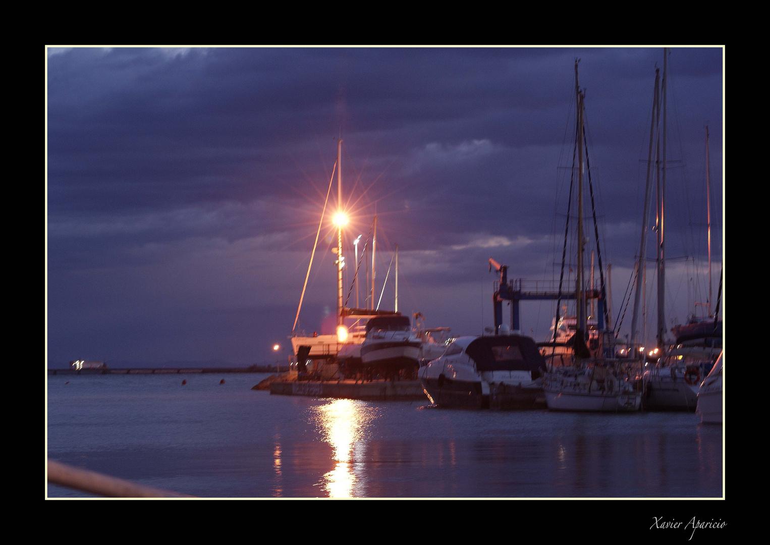 Barcos playa Canet