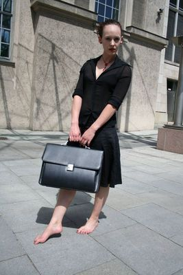 Barefoot Business Lady