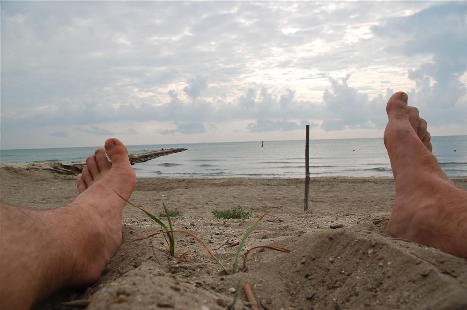 barfuss am strand