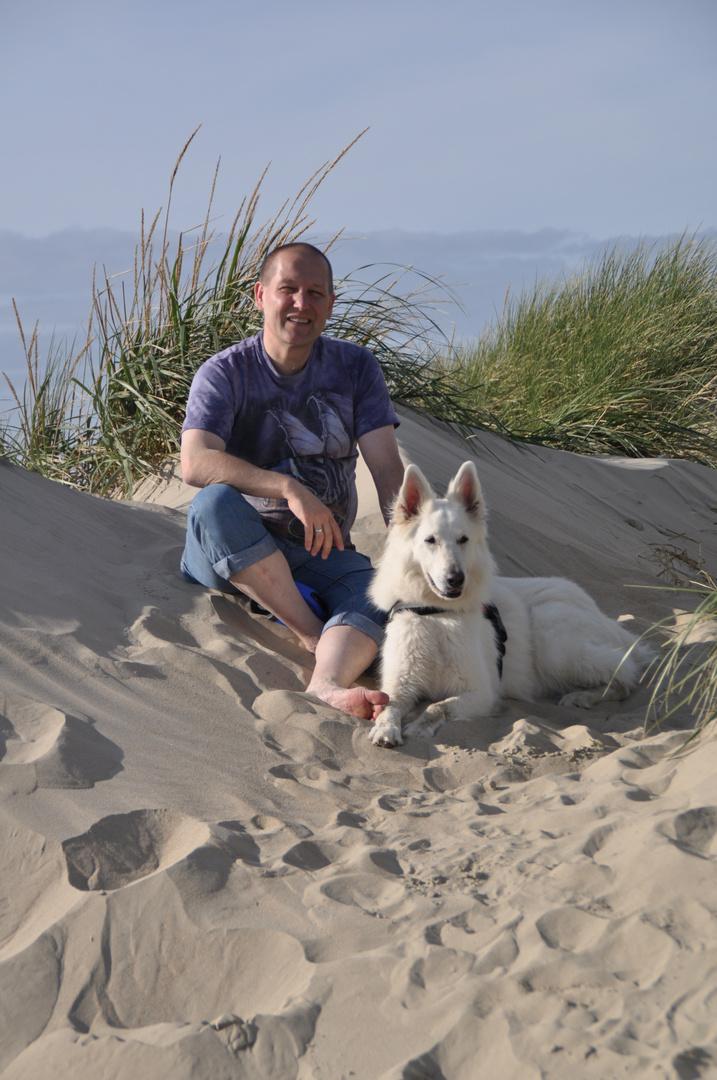 Barfuß in Sand