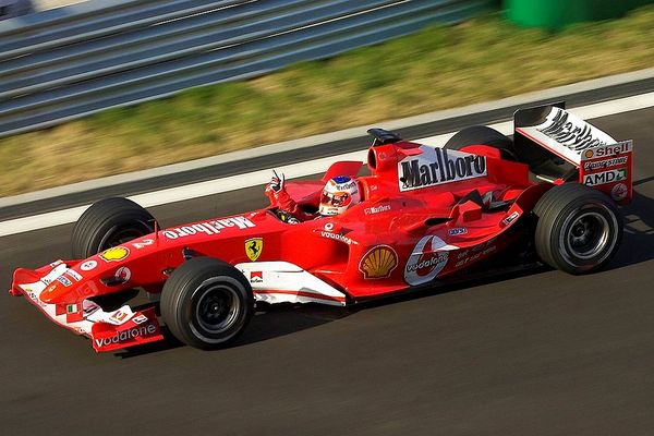 Barichellos Siegesfahrt zum Vize Weltmeister 2004 Version II