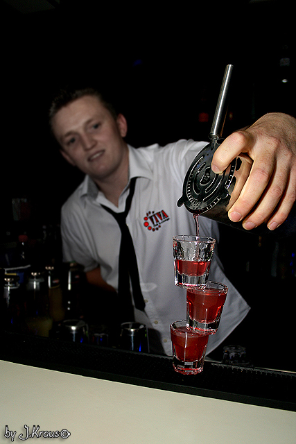 Barkeeper im Club Viva Osnabrück
