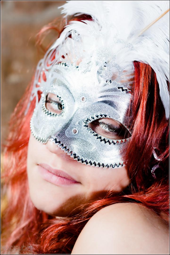 Barock mit Maske