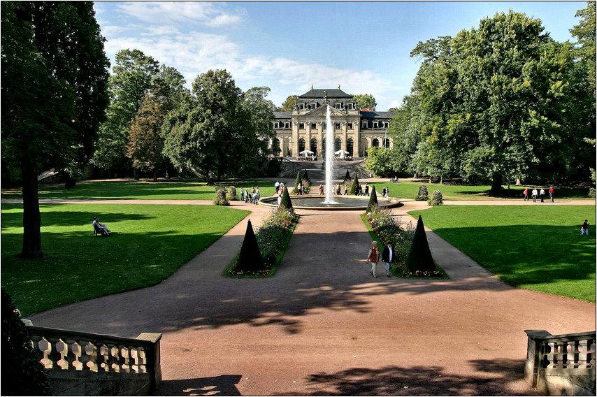 Barockstadt Fulda - Orangerie - Schloßgarten