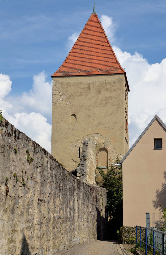 Baron Turm, Rennering, Wemding, September 2014