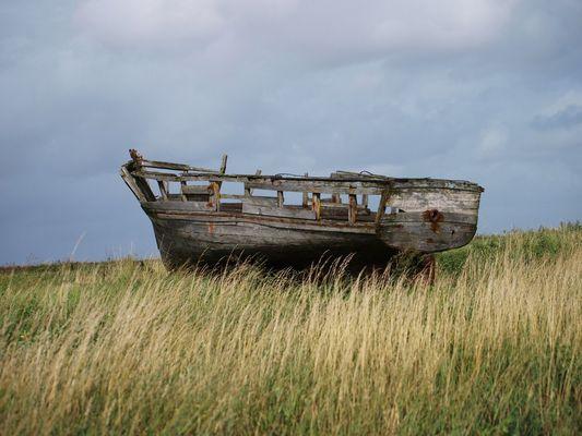barque abandonnee