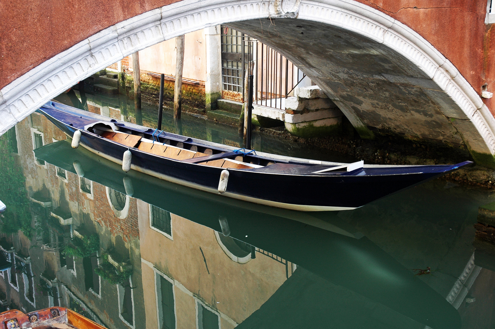 Barque et reflet Vénitien