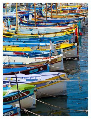 barques de pecheur, port de Nice