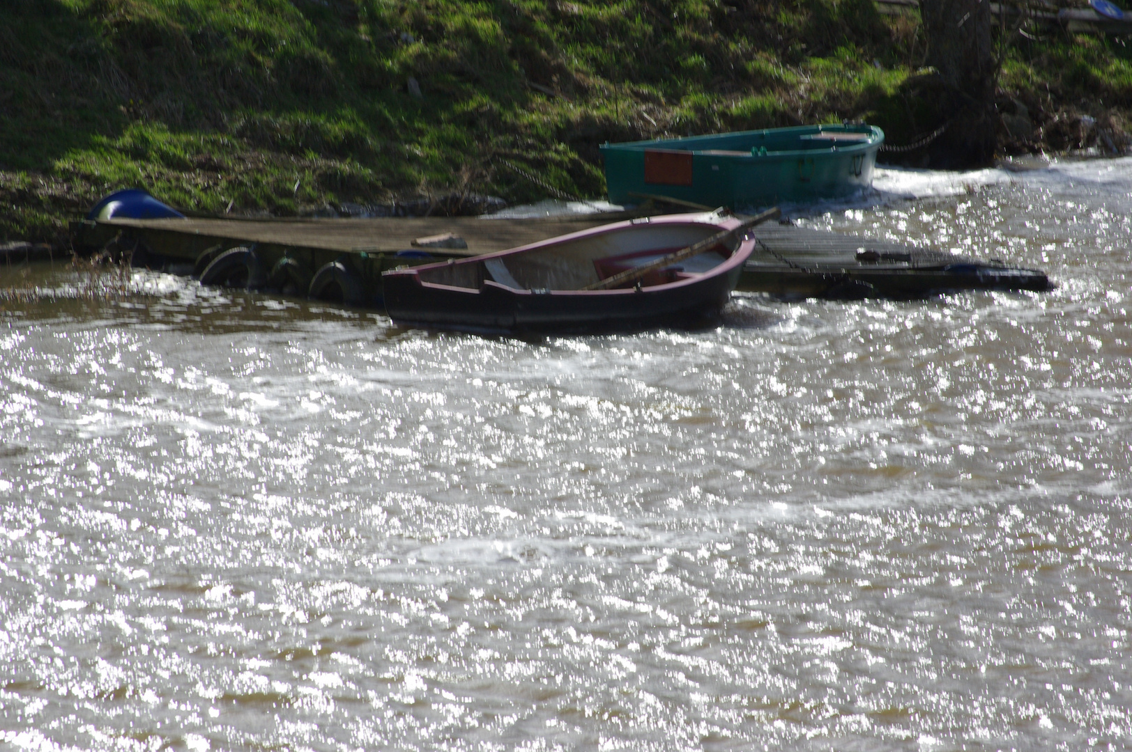 Barques en péril