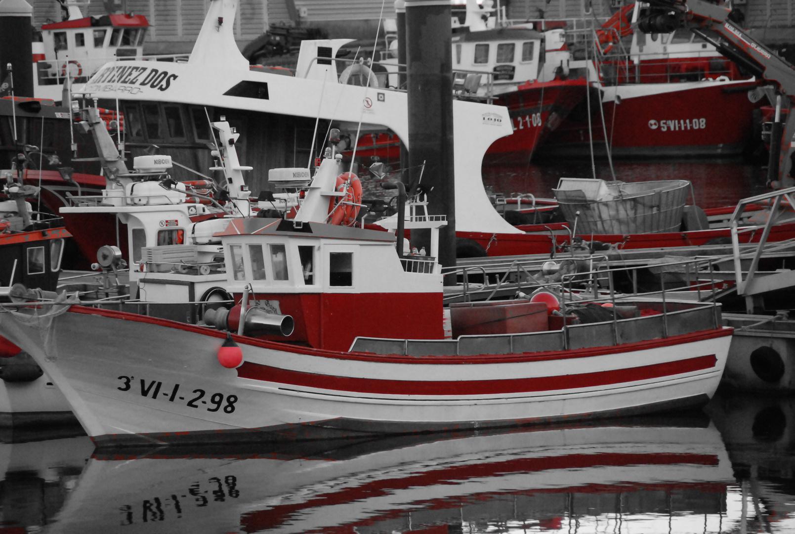 Barquitros de Combarro