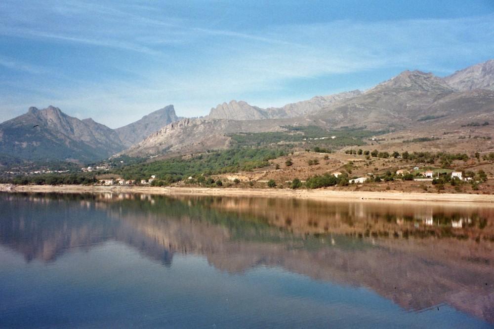 Barrage de Calacuccia - Callacuccia-Stausee